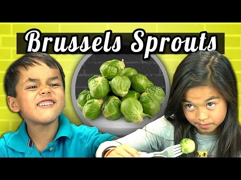 KIDS vs. FOOD - BRUSSELS SPROUTS