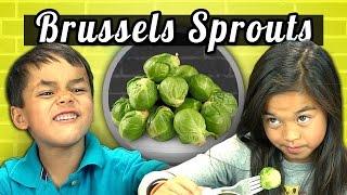 KIDS vs. FOOD #4 - BRUSSELS SPROUTS width=