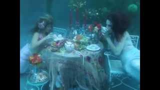 getlinkyoutube.com-Real Underwater Mermaid Tea Party! (if you believe....)