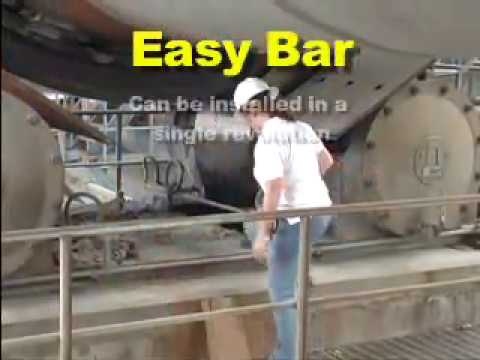Easy Bar for Rotary Kilns Overview