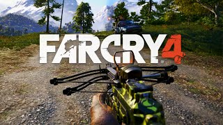 getlinkyoutube.com-Far Cry 4 - Crossbow Automática Brutal