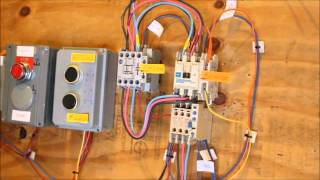 getlinkyoutube.com-Hands On motor controls forward & reverse,interlocking by pushbutton