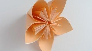 getlinkyoutube.com-Origami Kusudama Flower