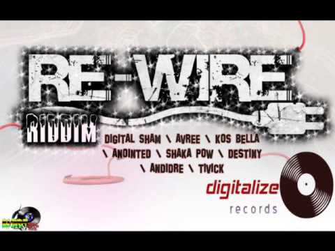 TIVICK -  HEEZ UP (RAW) - RE-WIRE RIDDIM - DIGITALIZE RECORDS
