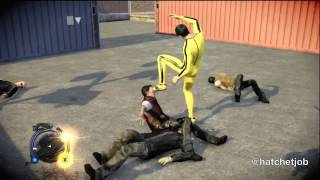 getlinkyoutube.com-Sleeping Dogs - Bruce Lee's 'Game of Death' outfit