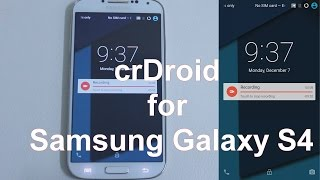 getlinkyoutube.com-crDroid Rom (5.1.1) for Samsung Galaxy S4 (i9500)
