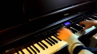 getlinkyoutube.com-Mirai Nikki OST - Here With You (piano)