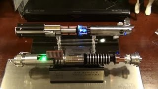 "getlinkyoutube.com-eFX Luke Skywalker ""Reveal"" Lightsaber from Return of the Jedi REVIEW"
