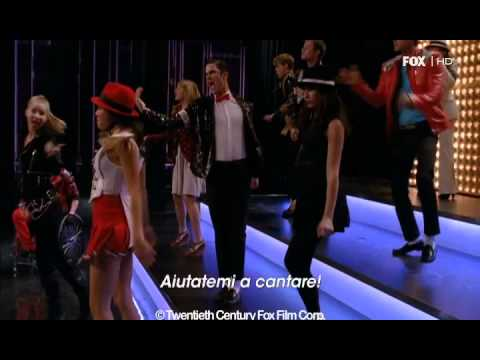 GLEE 3x11 - Wanna Be Startin' Somethin- Michael Jackson