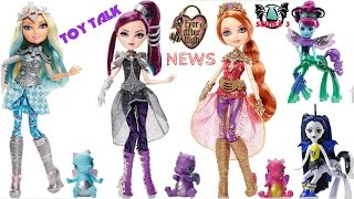 Ever After High Dragon Games Darling ,Raven & Holly, Booksprites & Frightmares wave 3 | TOY TALK