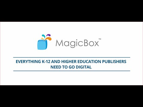 MagicBox - Digital Publishing | Learning Experience Platform for Content Providers