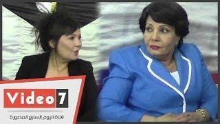 getlinkyoutube.com-بالفيديو.. عايدة رياض وفردوس عبد الحميد يشاركان فى عزاء الشرطة أمام قصر عابدين