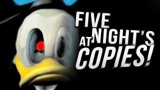 PewDiePie > FIVE NIGHTS AT FREDDY'S COPIES!