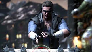getlinkyoutube.com-Mortal Kombat X - Test Your Might Johnny Cage MK10