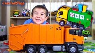 Bruder Garbage Truck Surprise Toy Videos for Children: Unboxing Compilation 😻