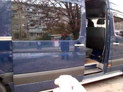 2-х моторный механизм автоматической двери для микроавтобусов