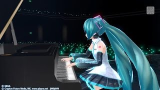 getlinkyoutube.com-Tell Your World (feat. 初音ミク V3) - PV Edit Hatsune Miku Project Diva F 2nd