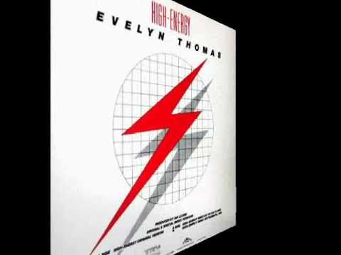Evelyn Thomas - High Energy Instrumental Version 1984.