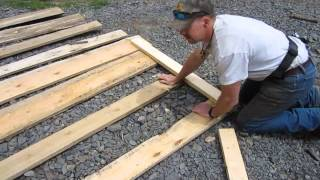 MMJ   How to build a movable livestock pen