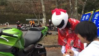 憧れの来夢先輩のバイクにホワイトベースステッカーを貼ってしまった!