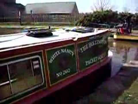 White Nancy Narrow Boat at Bollington