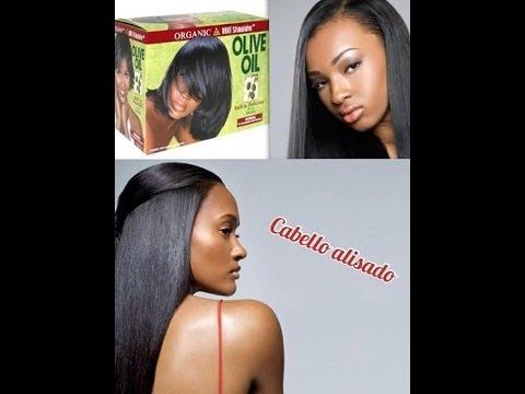Cuidados del cabello afro: alisado
