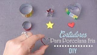 getlinkyoutube.com-DIY ♥ Cortadores para porcelana fría