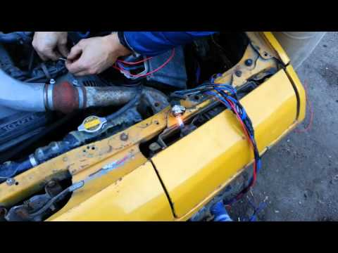 Orioncars: сборка проводки фар Мазда Космо