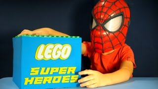 getlinkyoutube.com-Игрушки Lego Super Heroes обзор на русском языке. Лего СуперГерои Минифигурки