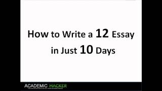 how to write a 12 essay for sat in 10 days part 1 4 youtube sat essay examples 12