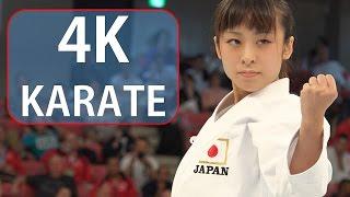 getlinkyoutube.com-ため息が出るほど美しい空手 Beautiful Karate, Ayano Takaki (2014 WORLD CUP・Shooting in 4K video)