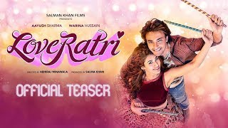 Loveratri Teaser Out   Salman Khan   Aayush Sharma   Warina Hussain   Abhiraj Minawala   5th October