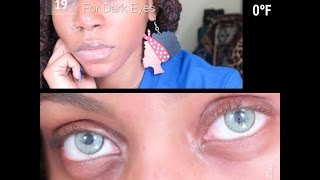 getlinkyoutube.com-REVIEW | Solotica NC Quartzo Contacts | For Dark Eyes/Skin