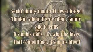 Camouflage - Tyler Farr with lyrics
