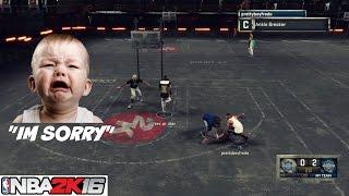 "getlinkyoutube.com-Ankle Breaker Apology "" He said he aint have ankle insurance"""" vol 1 NBA 2K16 - Prettyboyfredo"