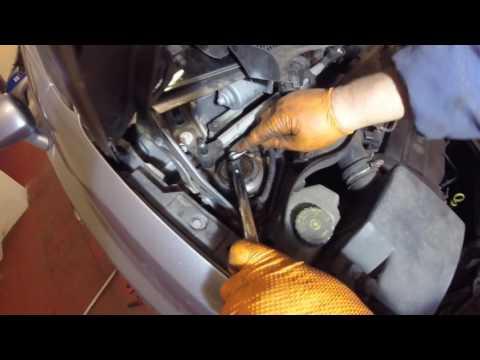 Как поменять передние стойки пружины Vauxhall/Opel Corsa D/How to change front coil spring