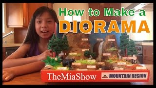 How to Make a Diorama - Awesome Tips!