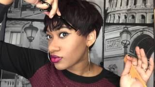 getlinkyoutube.com-Pixie Cut Pronto Wig Tutorial! ..