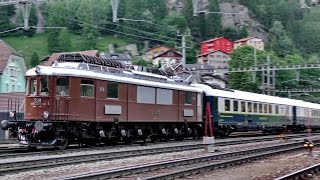 getlinkyoutube.com-SBB Gotthardbahn/Ferrovia del Gottardo: Göschenen Juni 2015