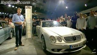 Mercedes CL65 road test - Top Gear - BBC