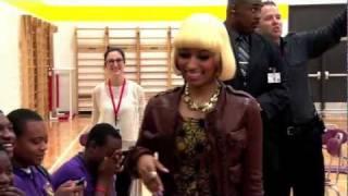 Nicki Minaj dans le rôle d'une principale d'Universitée pour une journée