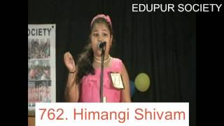 Singing by Himangi Shivam