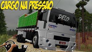 CARGO 2428 NA PRESSÃO - INDO NA FAZENDA CARREGAR VERDURA - VOLANTE G27!!!