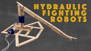 getlinkyoutube.com-How to Make the Hydraulic Fighting Robot Engineering Project