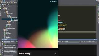 getlinkyoutube.com-[Android Studio] Transmitting Network Data Using Volley(2) - Sending a Simple Request