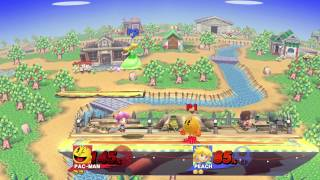 Sm4sh SLHG: Pac-Man (Paris) vs. Peach (Zadd)