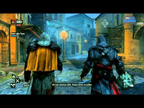 Assassin's Creed: Revelations Gameplay - Assassin's Creed: Revelations Gameplay - Part 6: The Prisoner, The Sentinel, Bomb Crafting -6hRqDFTyJ0E