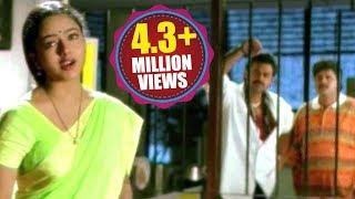 getlinkyoutube.com-Raja Telugu Movie Songs - Edo Oka Raagam - Venkatesh, Soundarya