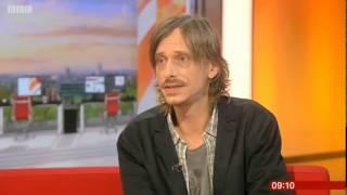 Mackenzie Crook - Detectorists on BBC Breakfast 21/10/15