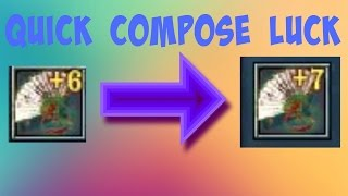 getlinkyoutube.com-Conquer Online - Quick Composing fan to +7 at 1.23% chance!